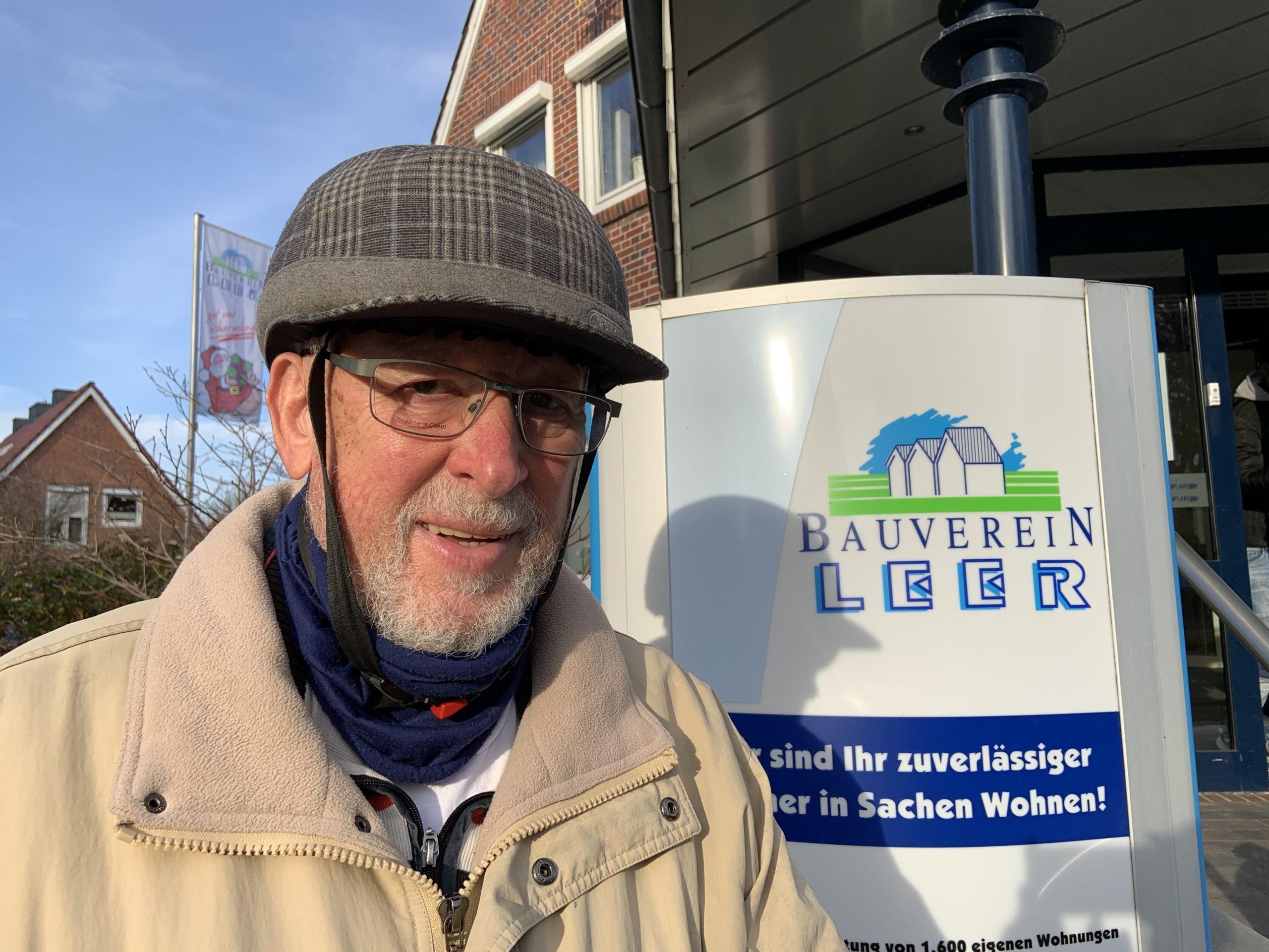 Ablesung 2020: Herr Wasserberg unterwegs für den Bauverein