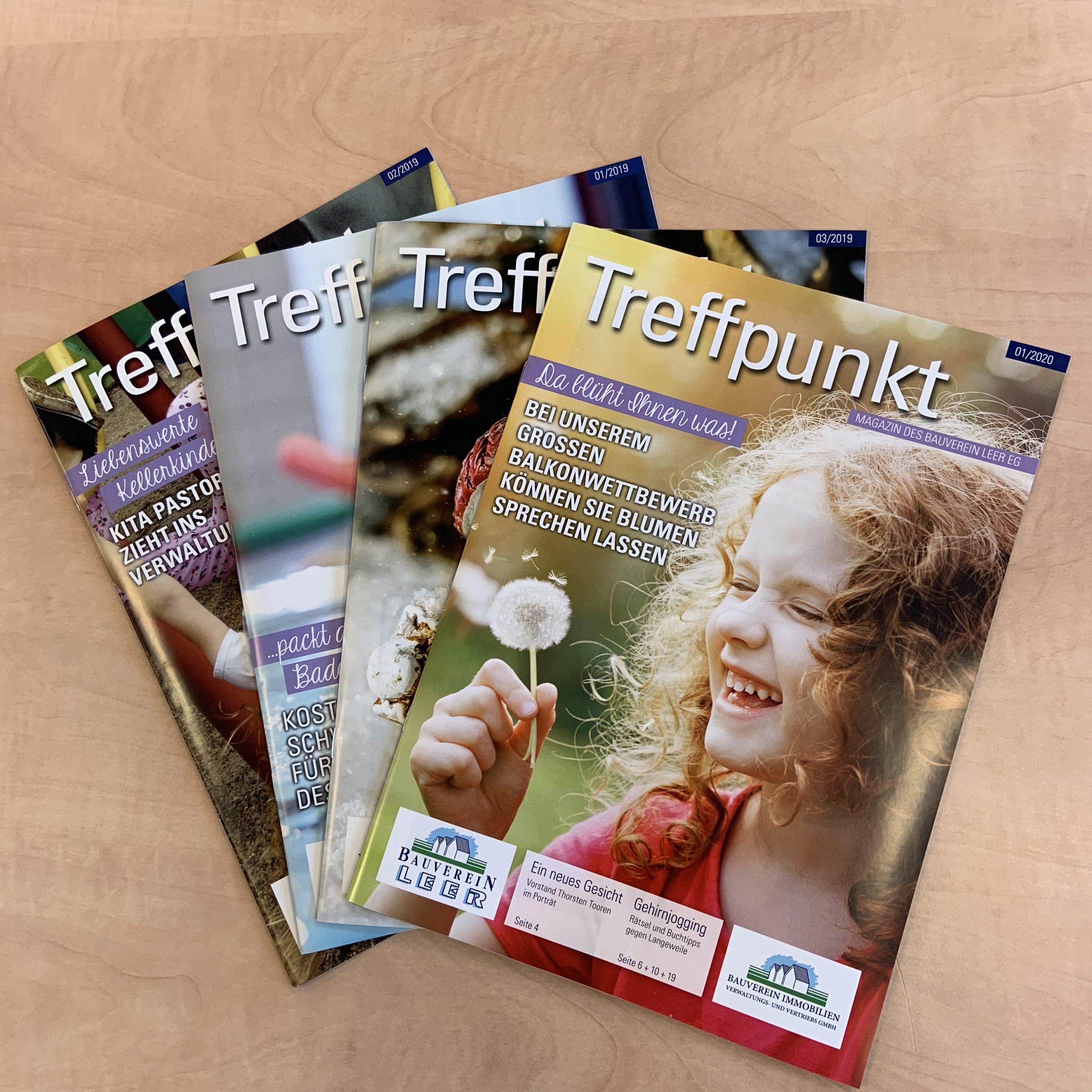 "Kundenmagazin ""Treffpunkt"" – Archiv"