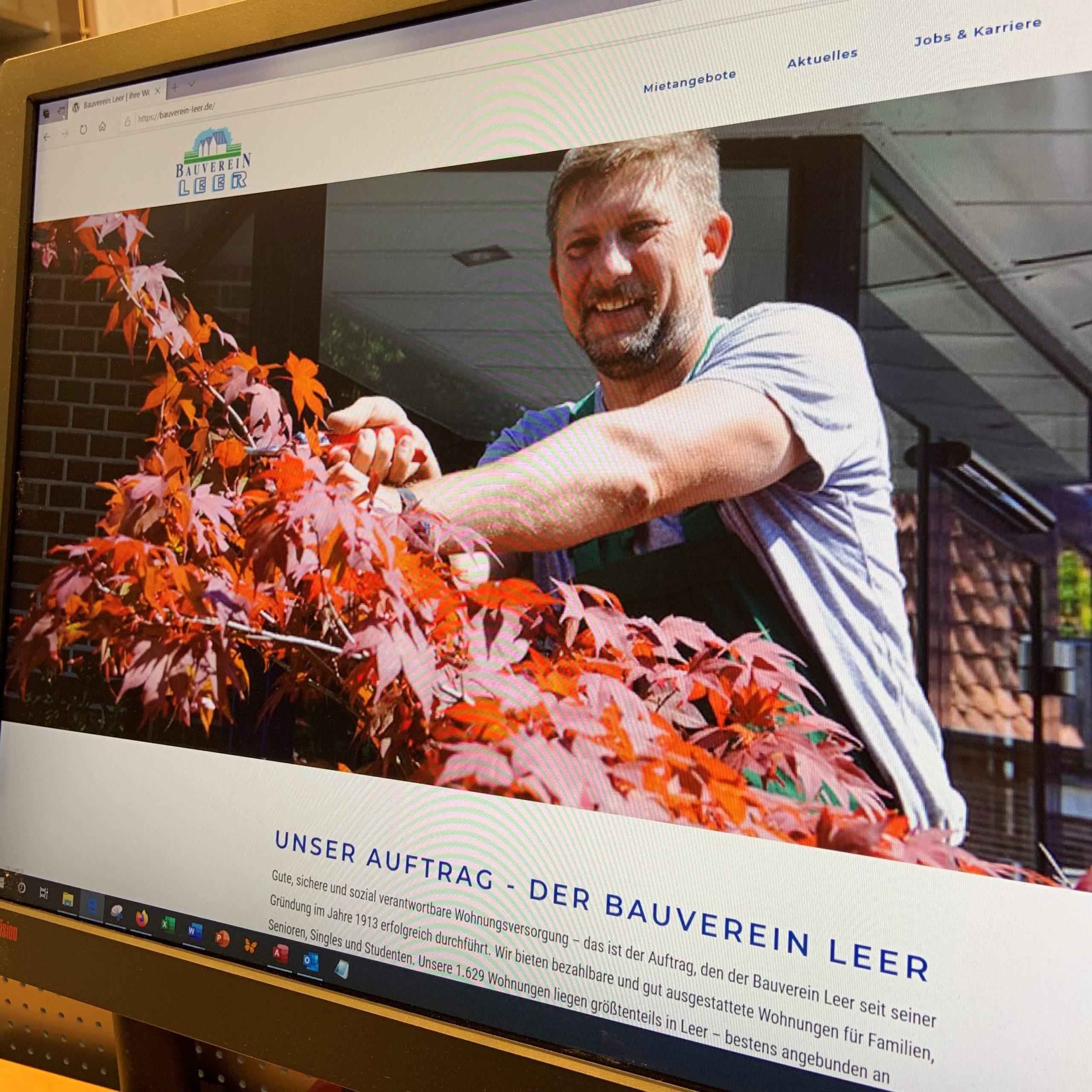 Neustart: Bauverein startet neue Internetseite