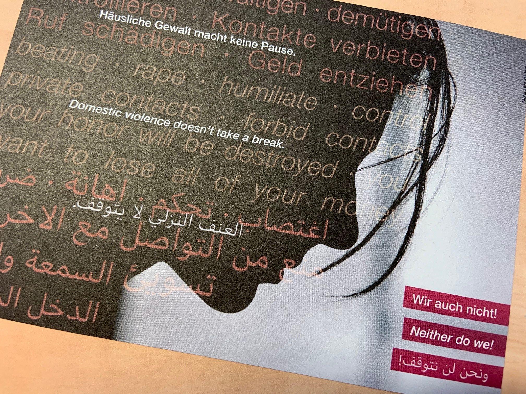 Sicher wohnen: Aktion gegen häusliche Gewalt