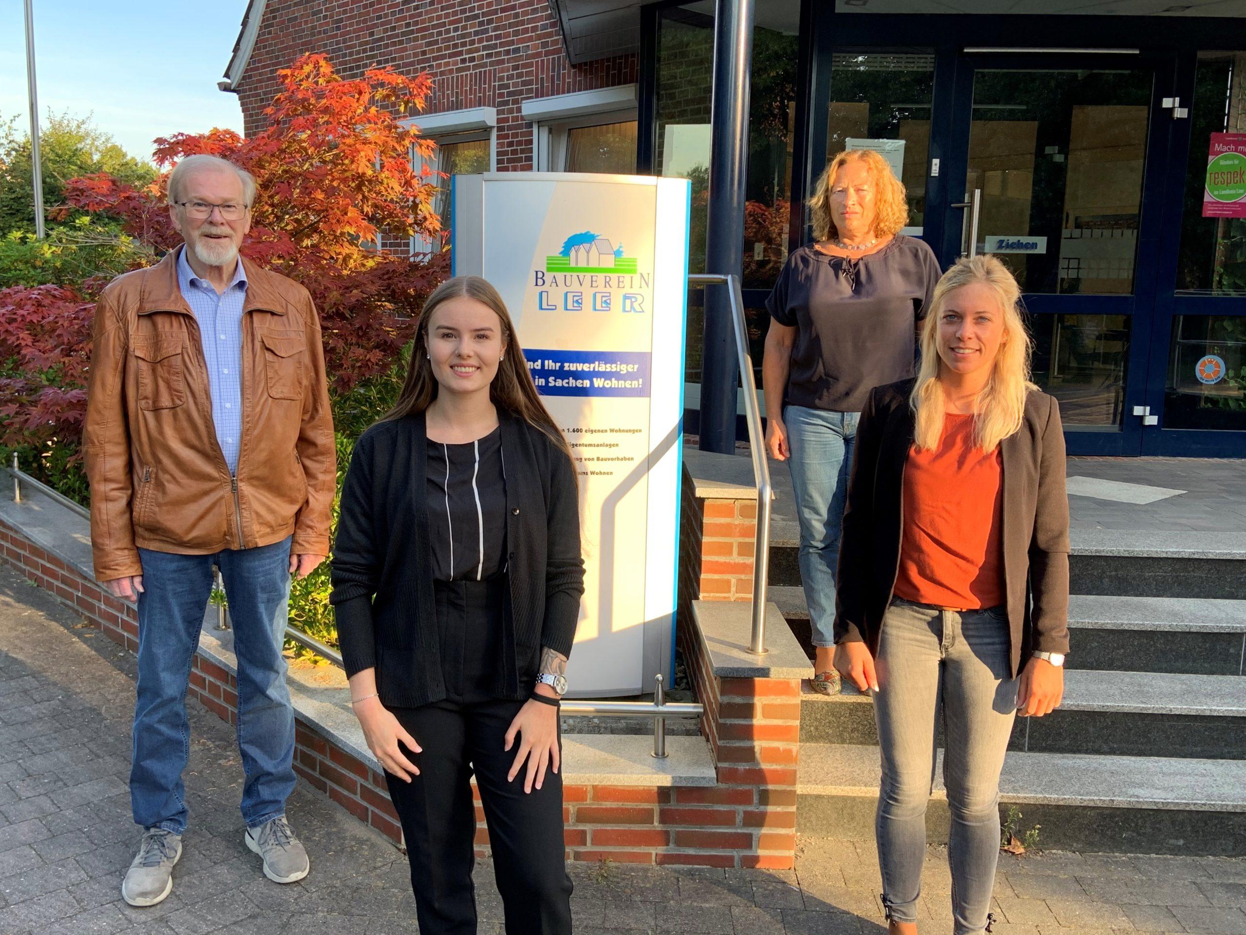 Ausbildung: Nina Schönknecht verstärkt Bauverein-Team