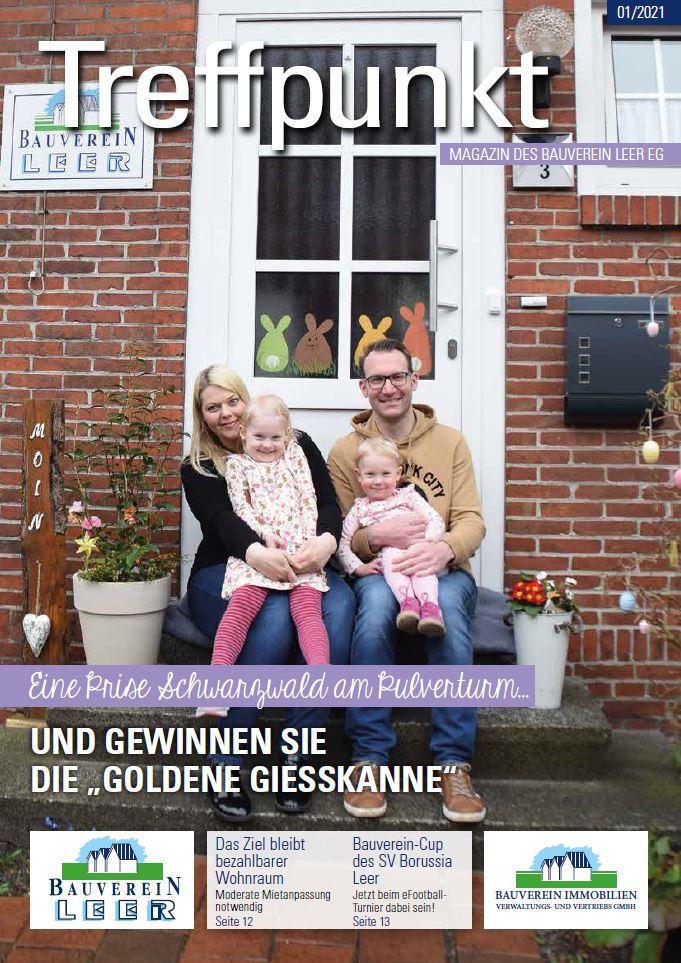 """""""Treffpunkt"""": Neue Ausgabe des Mietermagazins ist da!"""
